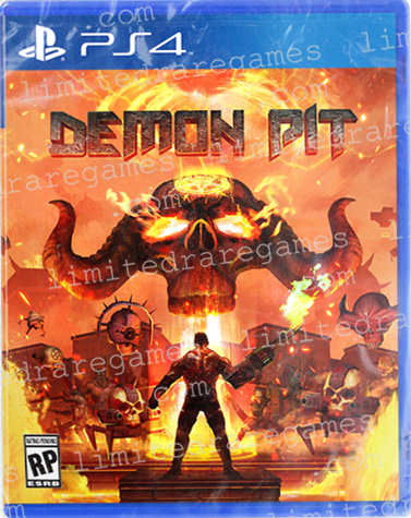 demon pit physical retail release limited rare games playstation 4 cover www.limitedgamenews.com