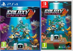 galaxy of pen and paper +1 edition physical retail release red art games playstation 4 nintendo switch cover www.limitedgamenews.com