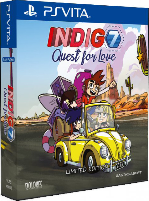 indigo 7 quest for love limited edition physical retail release asia English multi-language release eastasiasoft playstation vita cover www.limitedgamenews.com
