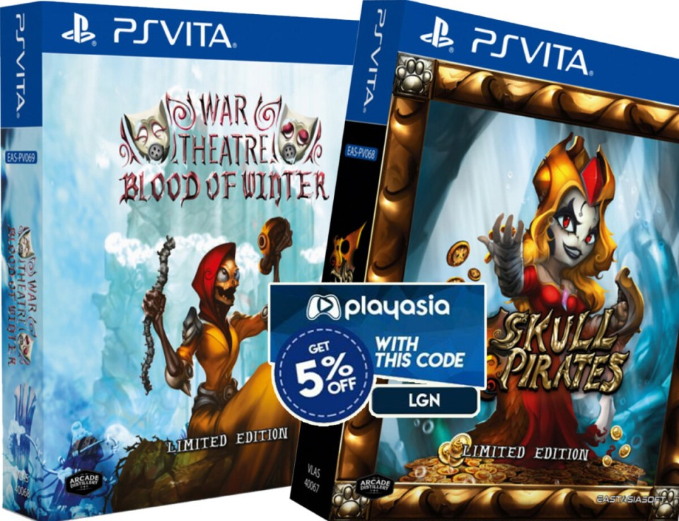 coupon play-asia war theatre blood of winter skull pirates physical retail release limited edition eastasiasoft playstation vita cover www.limitedgamenews.com