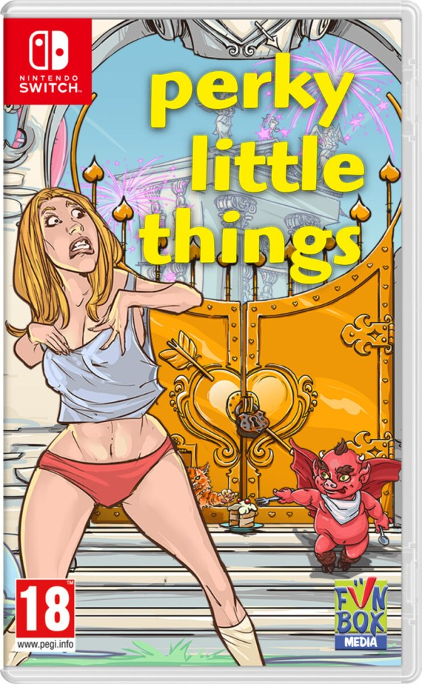 perky little things physical retail release funbox media nintendo switch cover www.limitedgamenews.com