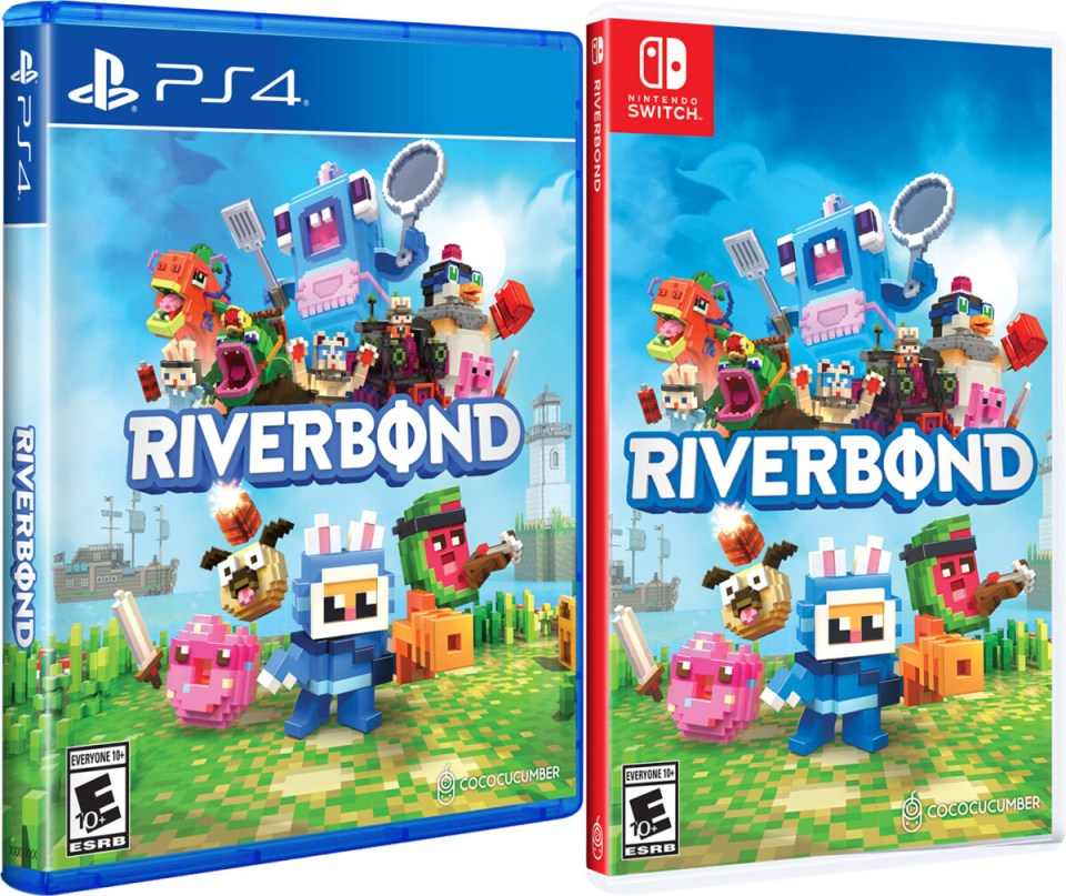 riverbond physical retail release cococucumber playstation 4 nintendo switch cover www.limitedgamenews.com
