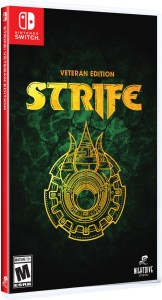 strife veteran edition physical retail release nightdive studios limited run games nintendo switch cover www.limitedgamenews.com