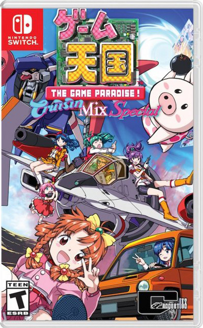 the game paradise cruisinmix special physical retail release usa dispatch games nintendo switch cover www.limitedgamenews.com