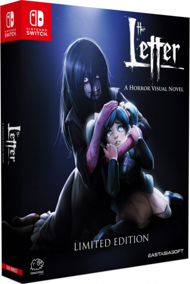 the letter a horror visual novel limited edition physical retail release asia multi-language english eastasiasoft nintendo switch cover www.limitedgamenews.com
