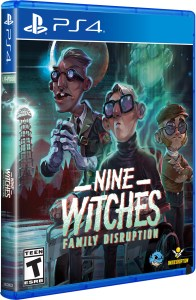 nine witches family disruption physical retail release limited run games playstation 4 cover www.limitedgamenews.com
