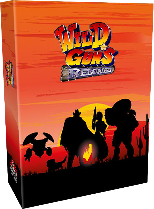 wild guns reloaded collectors edition physical retail release playstation 4 nintendo switch cover www.limitedgamenews.com