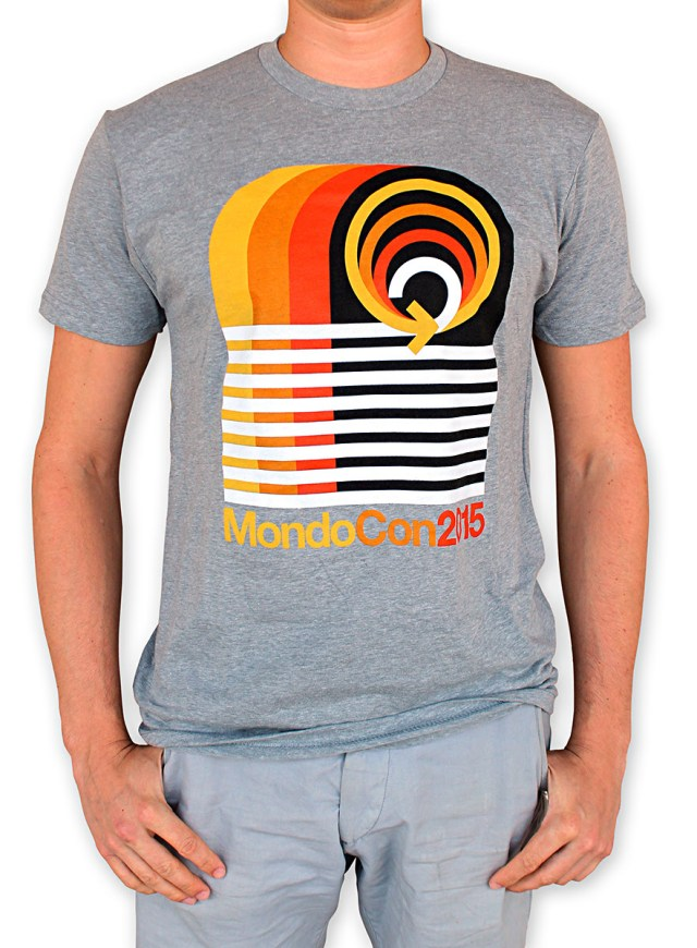 「MONDOCON 2015 」 Tシャツ MondoCon 2015 T-Shirt. Art by Draplin Design Co. US$25