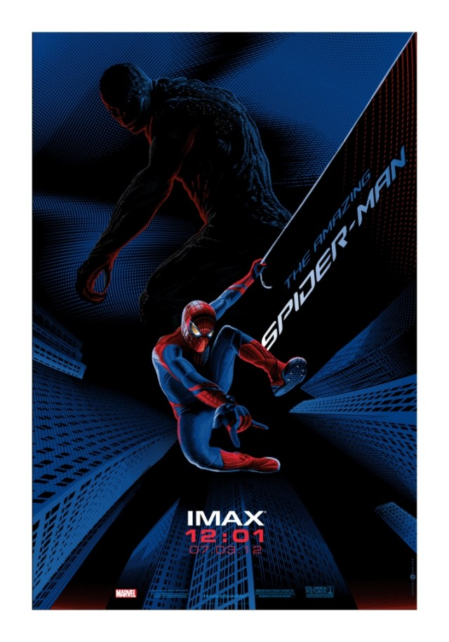 「AMAZING SPIDER-MAN」 Poster by Laurent Durieux 13.5x19.5