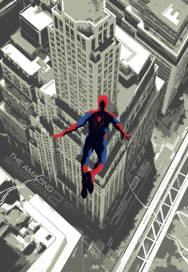 「AMAZING SPIDER-MAN2」 Poster by Rich Kelly
