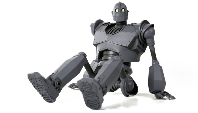 """The Iron Giant Deluxe Figure.  Approx 16"""" in height.  30+ points of articulation. Sound feature.  US$300"""