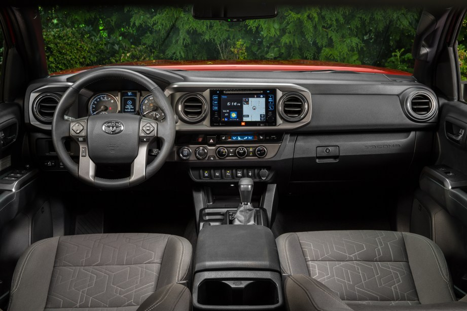 Toyota Tacoma Interior 1
