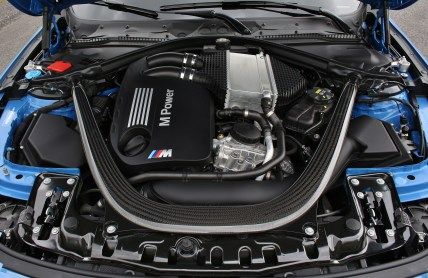 2016 BMW M3 Engine