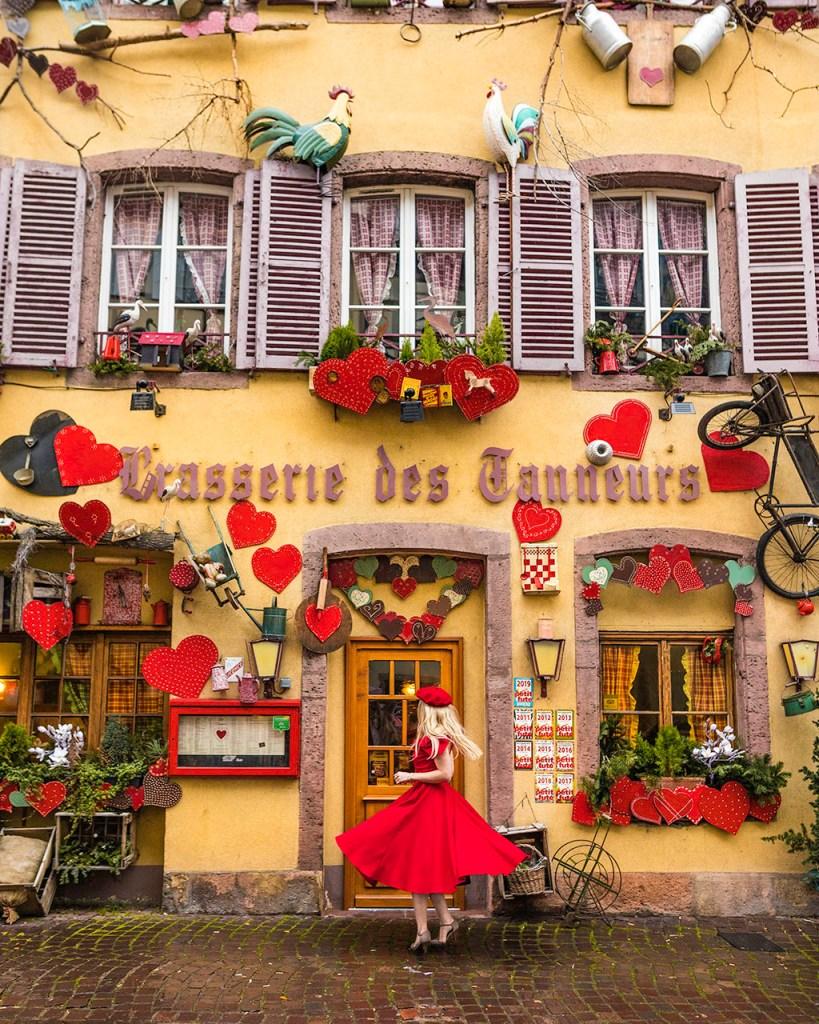 Brasserie des tanneurs, rue des tanneurs - Colmar, Alsace