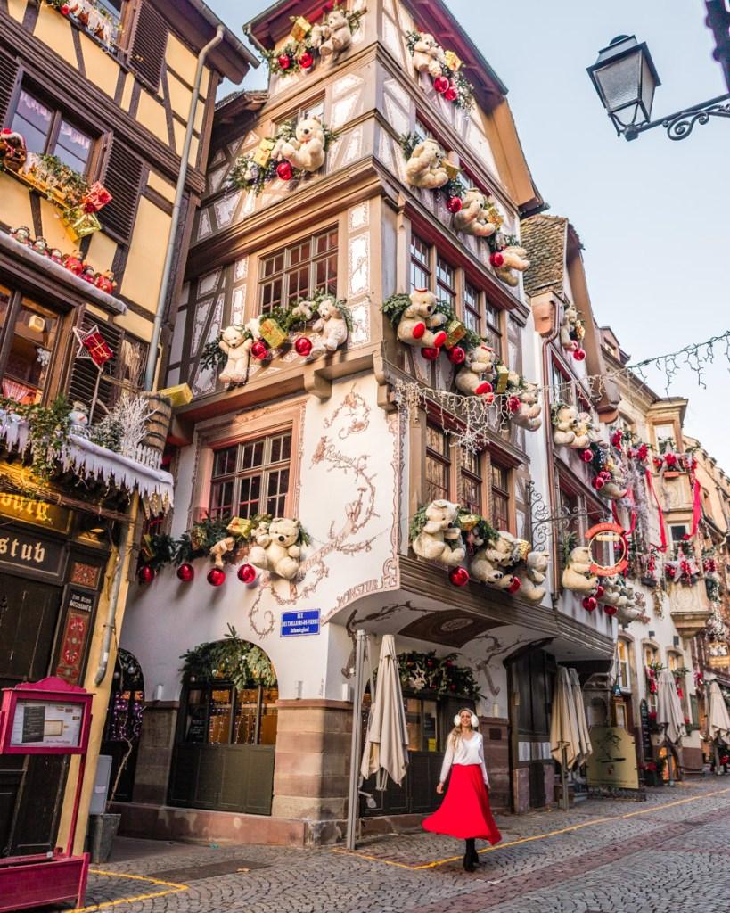 Le Tire-Bouchon - Teddy bear house in Strasbourg, Alsace