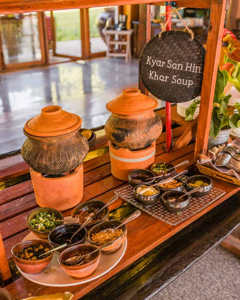 Villa Inle Boutique Resort, breakfast - Inle Lake, Myanmar