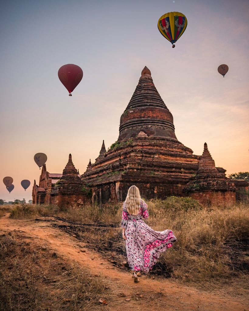 Sunrise in Bagan - Myanmar