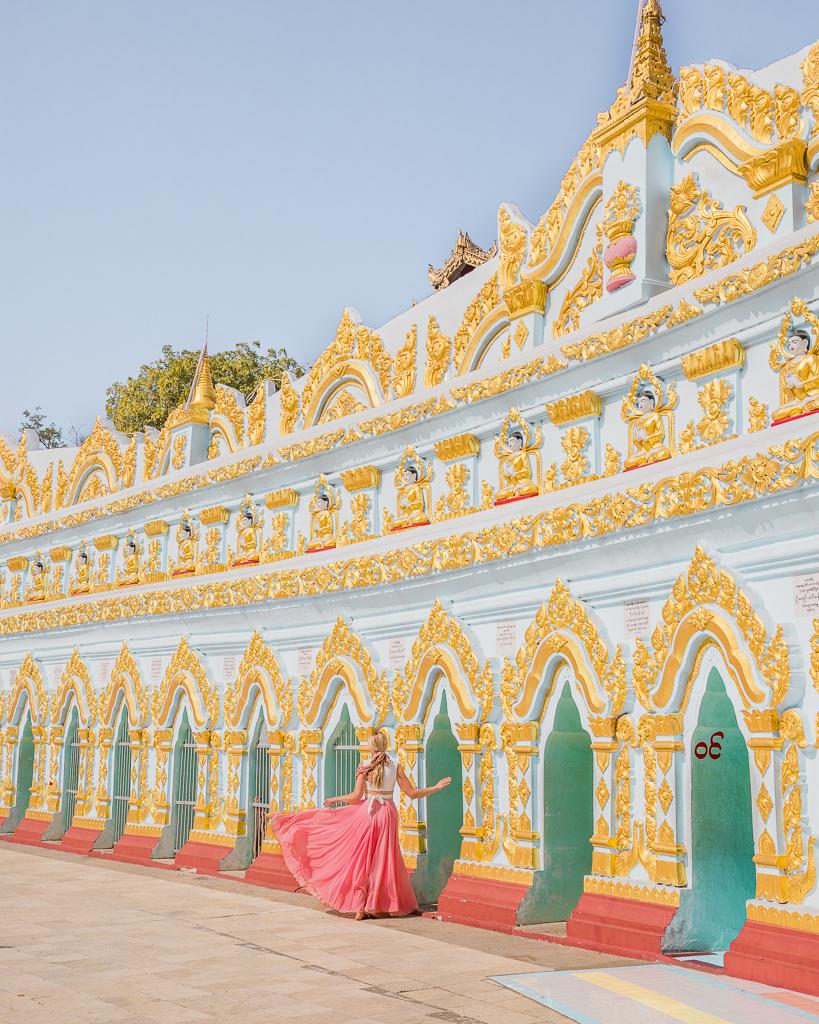 U Min Thonze in the Sagaing region, Myanmar