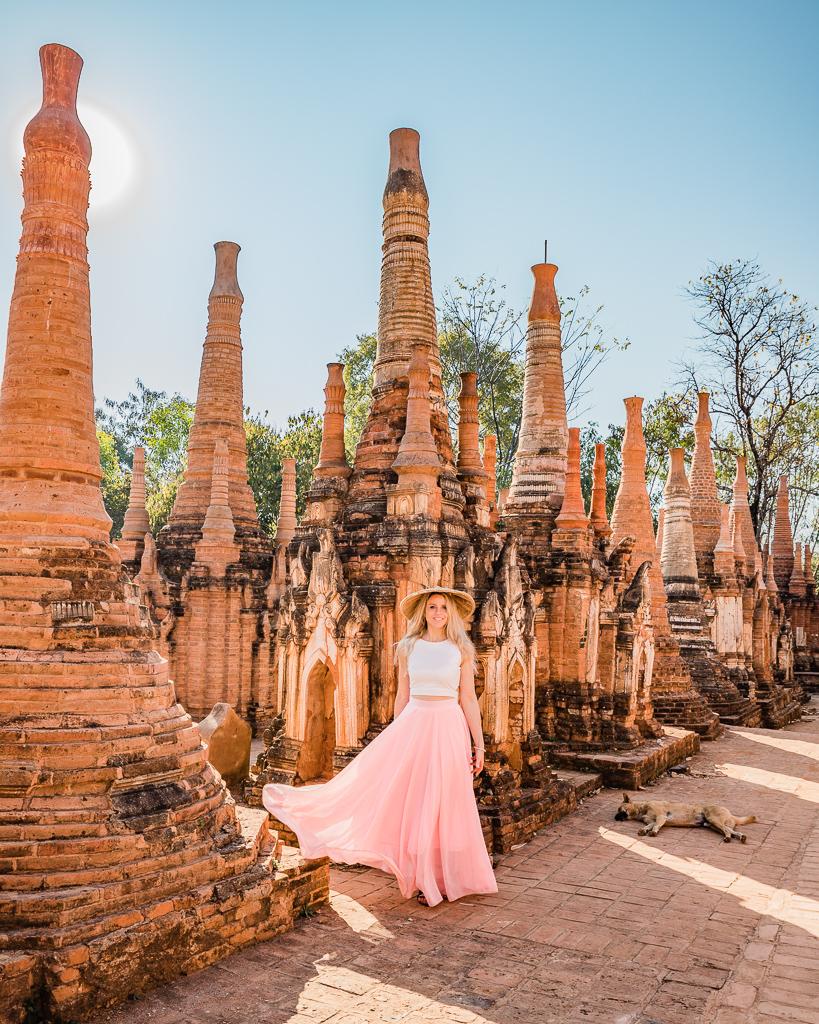 Shwe In Dein Pagoda, Inle Lake