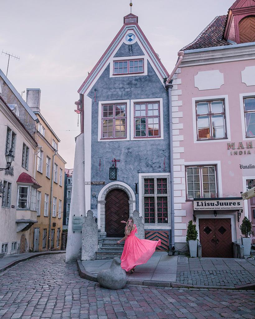House on Raekoja Plats - Tallinn, Estonia