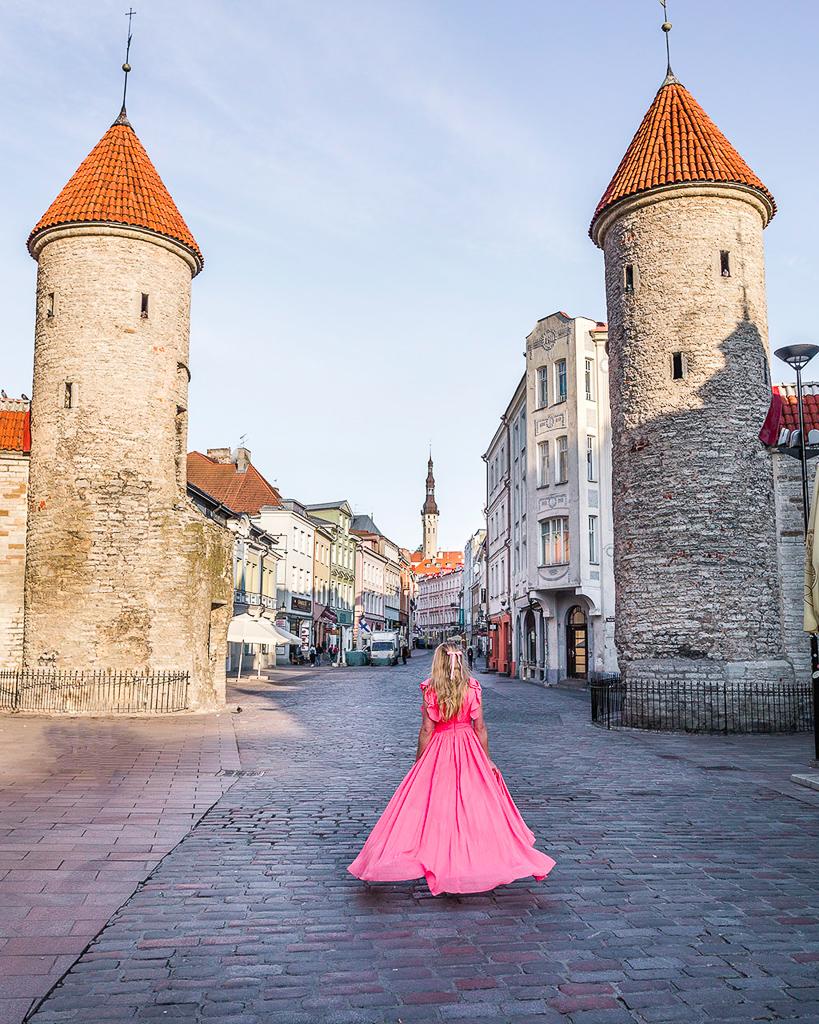 Viru Gate - Tallinn, Estonia