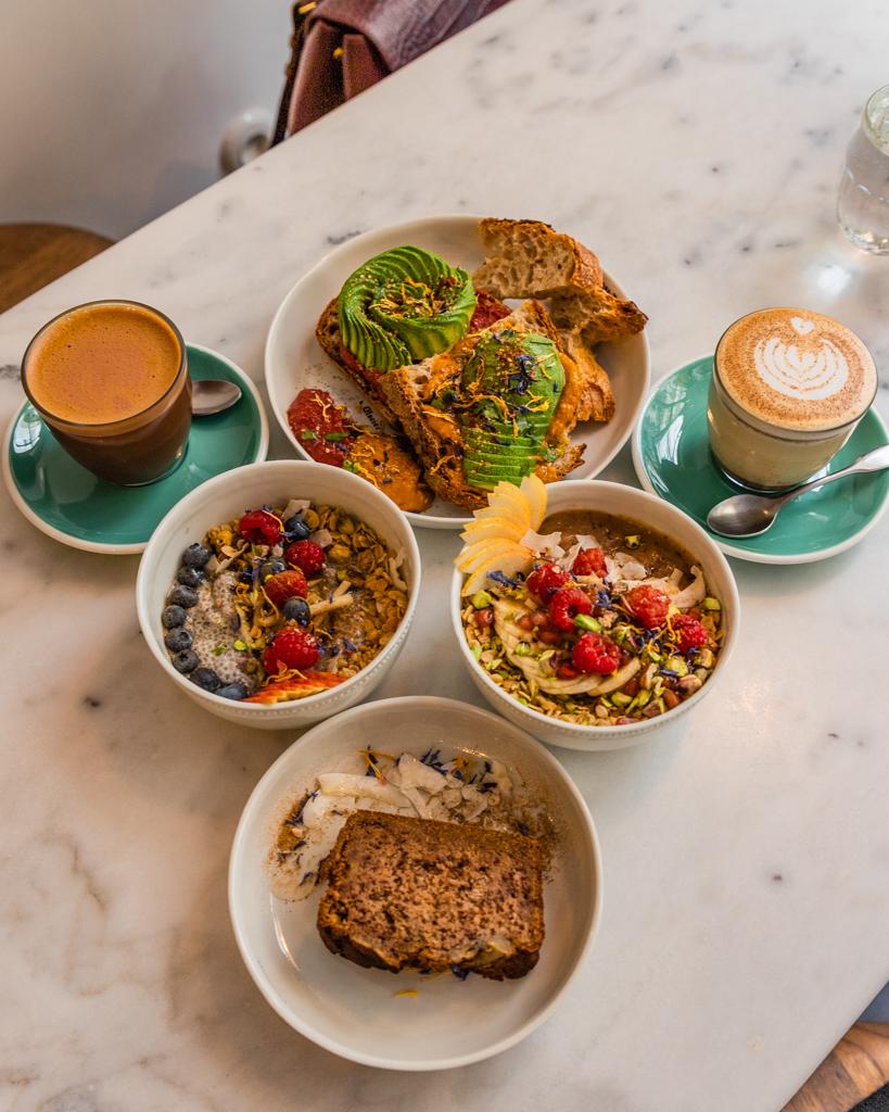 Brunch in Cuppa Café - Paris