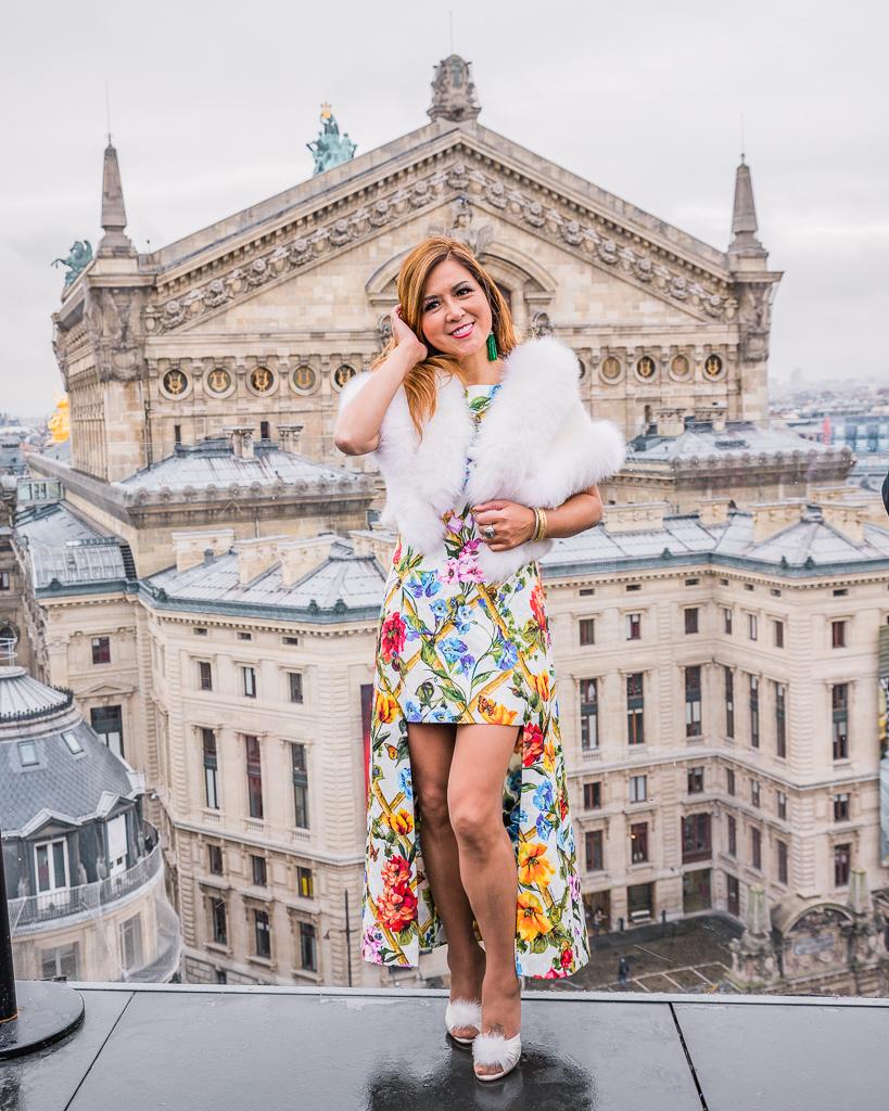Photoshoot in Galeries Lafayette's rooftop - Paris