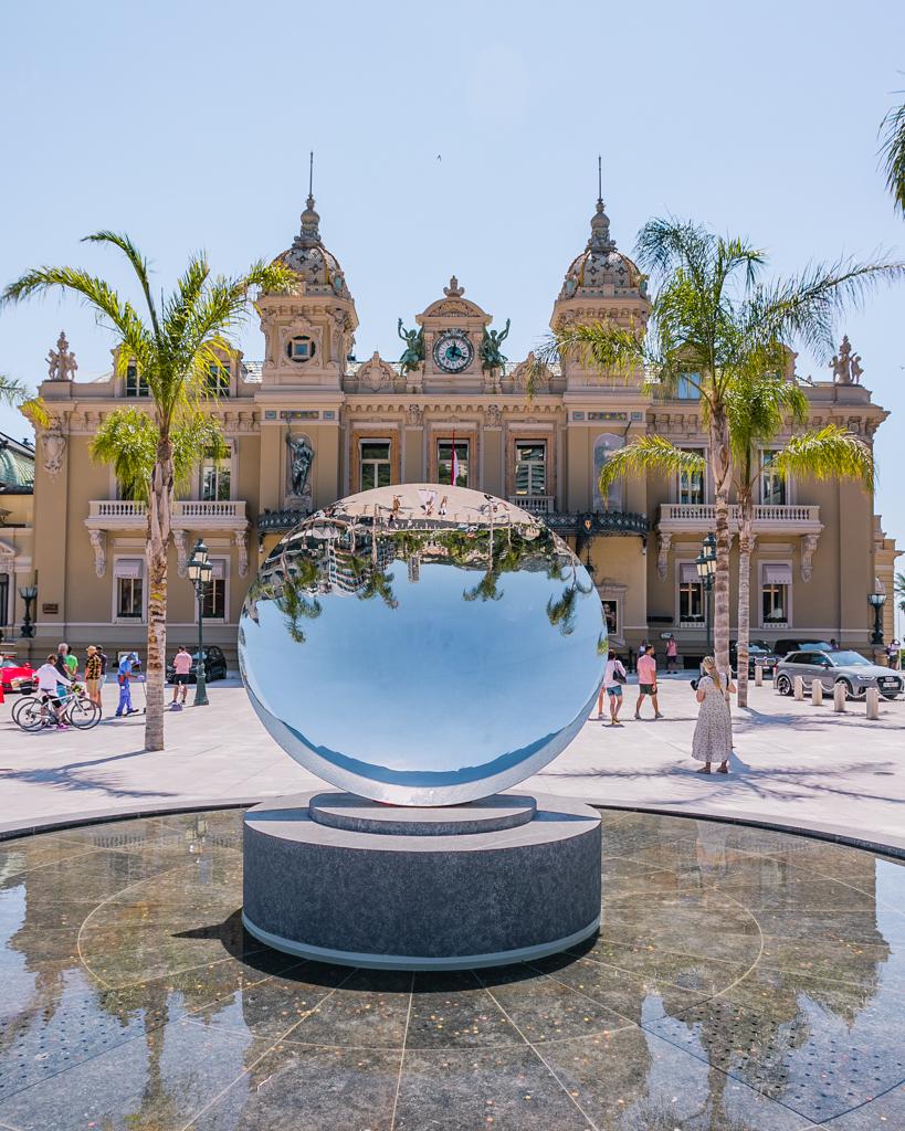 Casino of Monte Carlo in Monaco - French Riviera