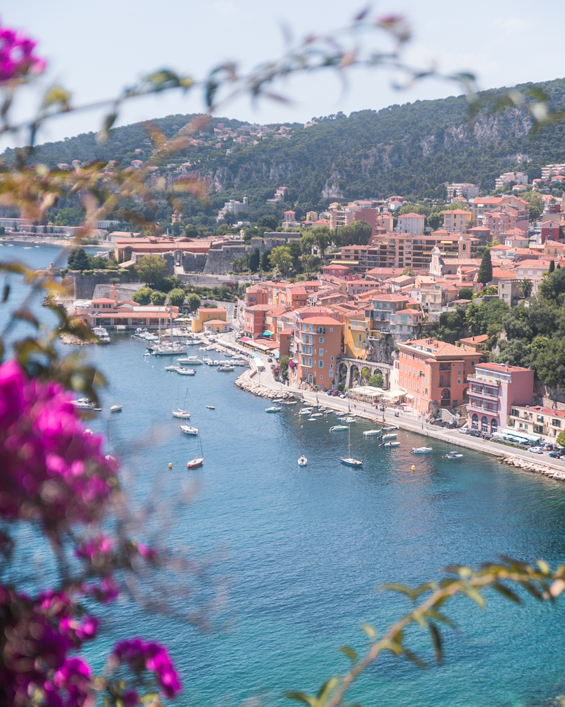 View of Villefranche-sur-Mer - French Riviera