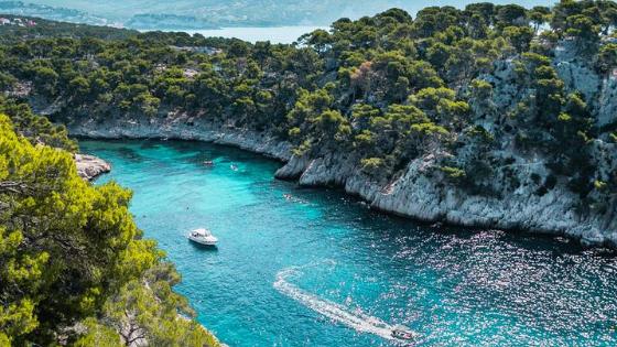 Calanque de Port-Pin - French Riviera