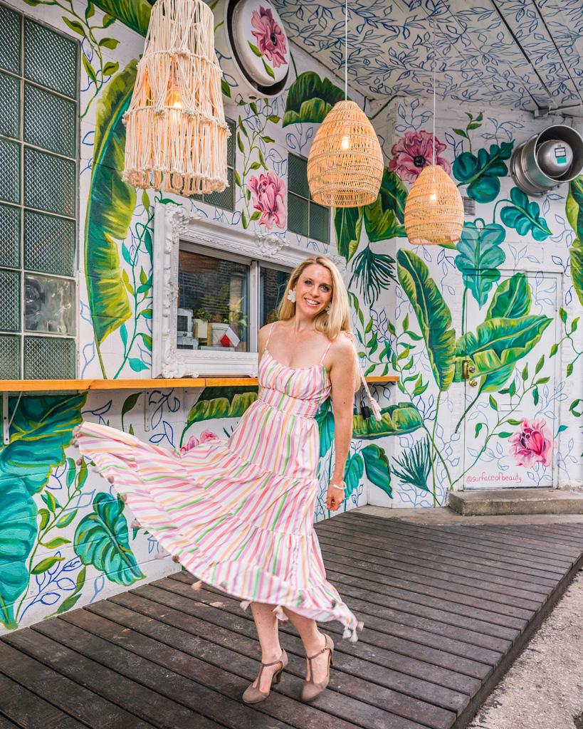 Maison Marcel Mural in Chicago