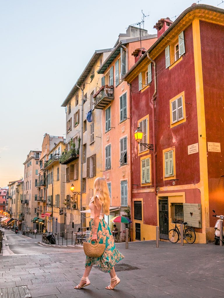 Old Town of Nice - French Riviera