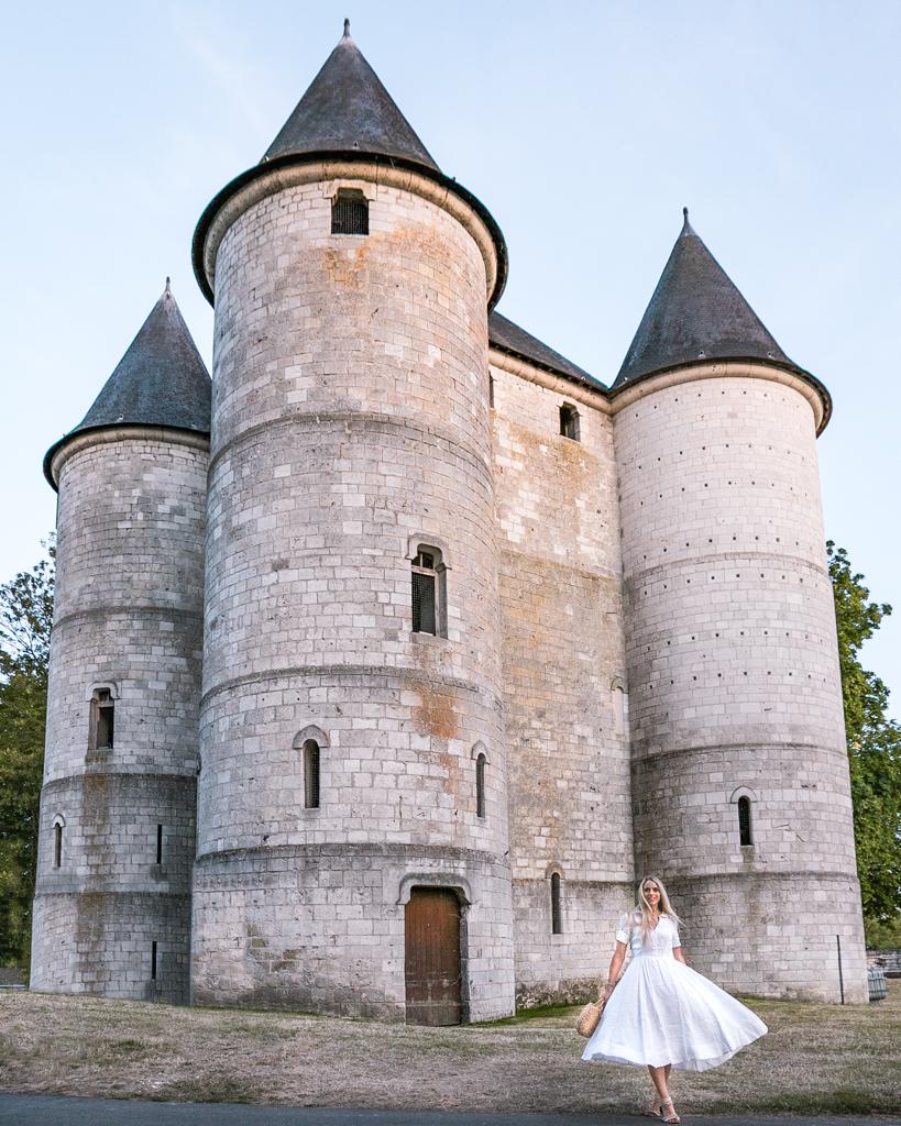 "The castle ""Château des Tourelles"" in Vernon - close to Monet's garden in Giverny (Normandy)"