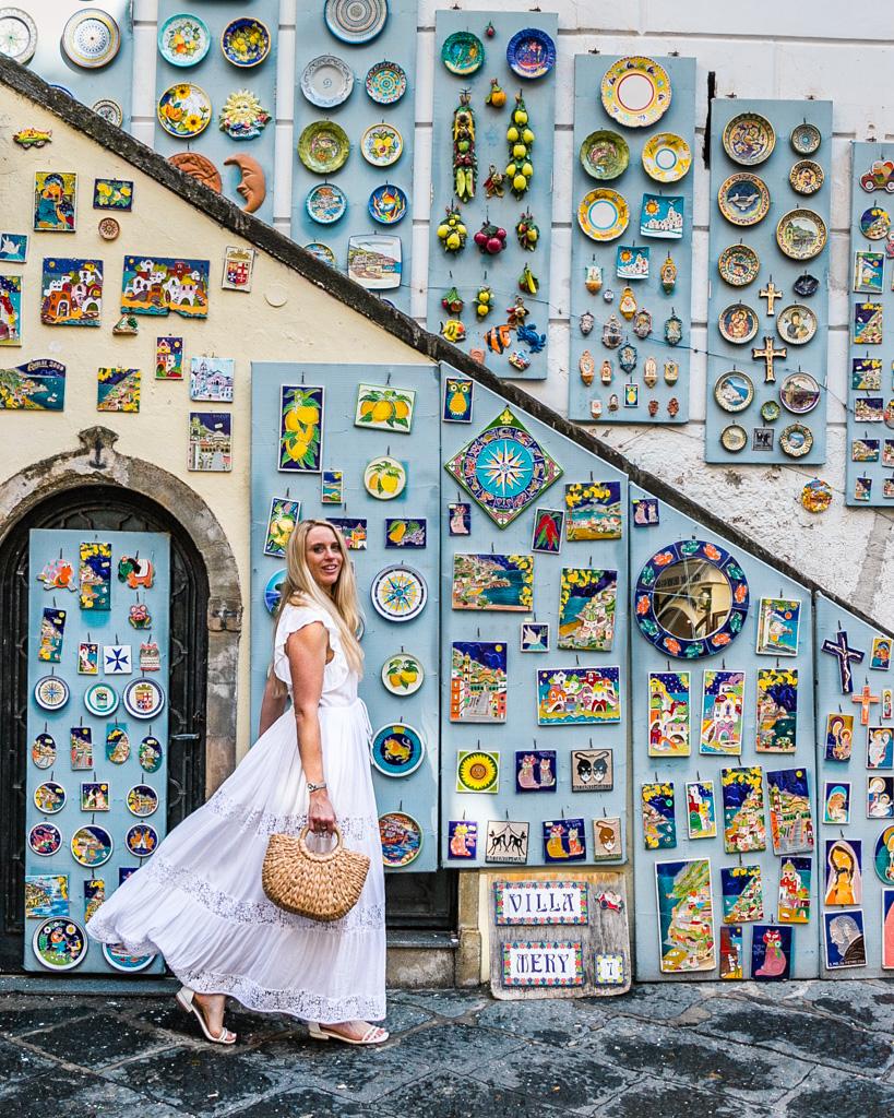 Ceramic Shop in Amalfi - Amalfi Coast