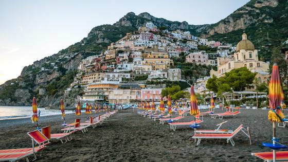 Beach of Positano - Amalfi Coast