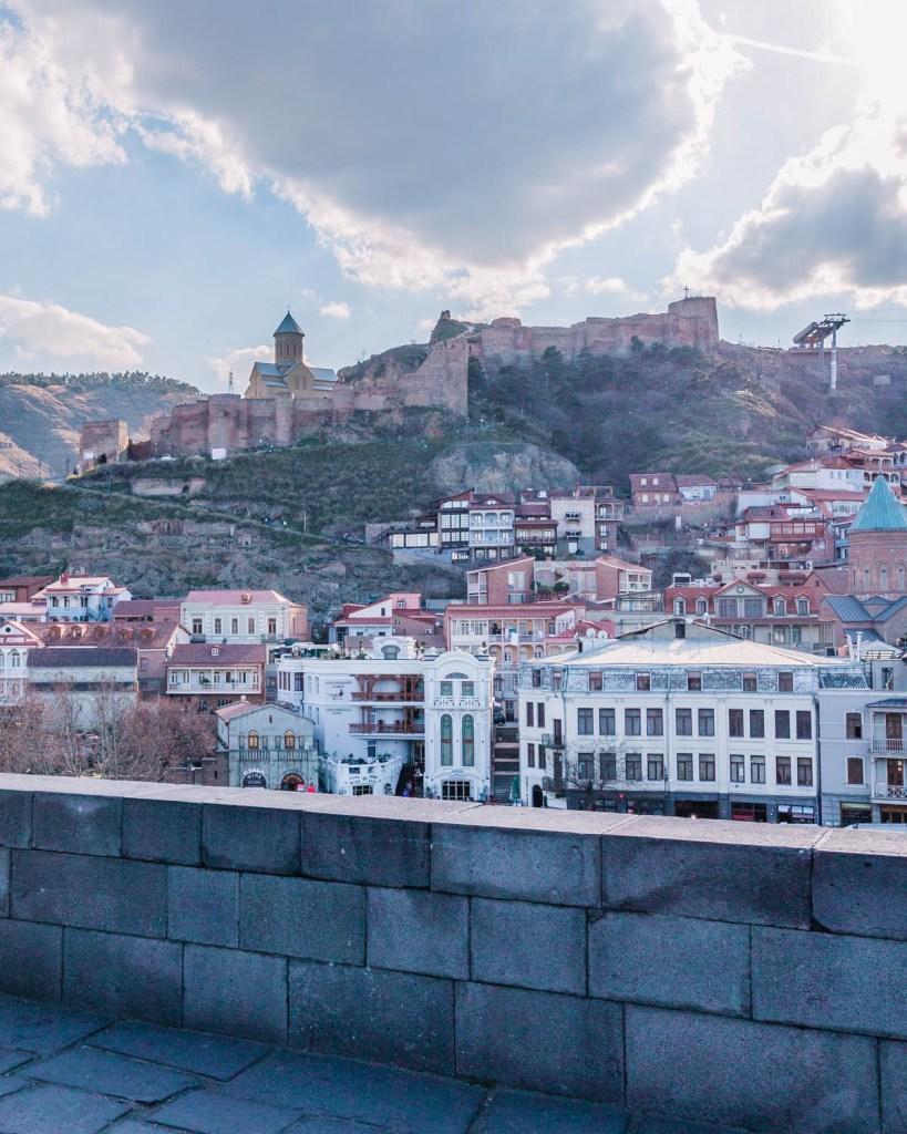 Narikala Fortress in Tbilisi - Georgia