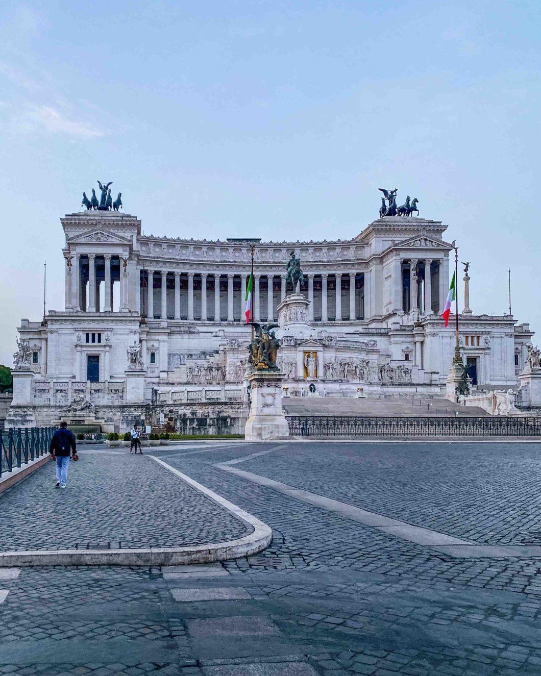 Monument Victor Emmanuel II, aka Altare della Patria or the Vittoriano monument in Rome
