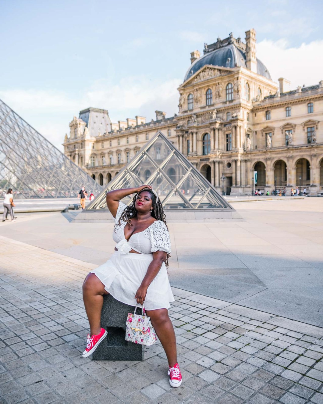 Photoshoot at the Louvre Museum