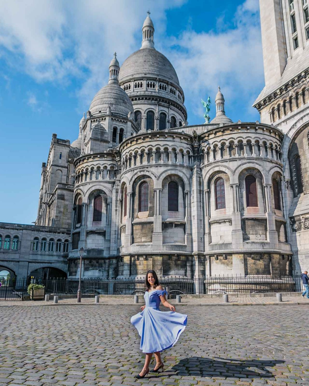Photoshoot at the Sacre-Coeur Basilica in Montmartre