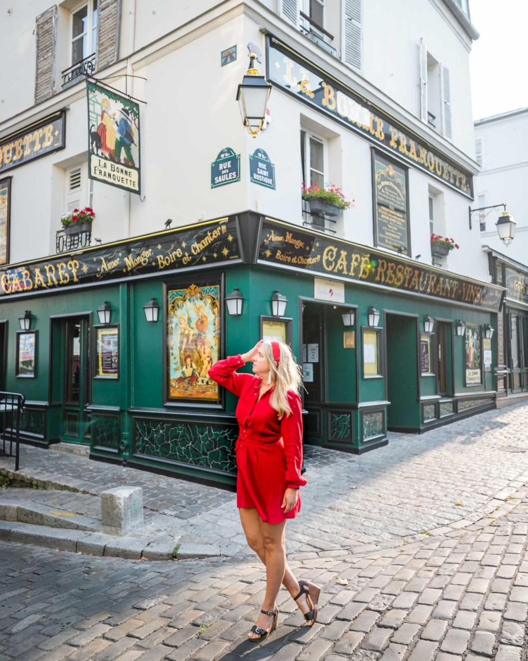 Photoshoot in Montmartre