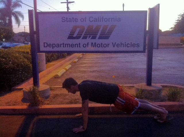 THE DMV WORKOUT: HOW TO WORKOUT WHEN YOU'RE STUCK AT THE DMV