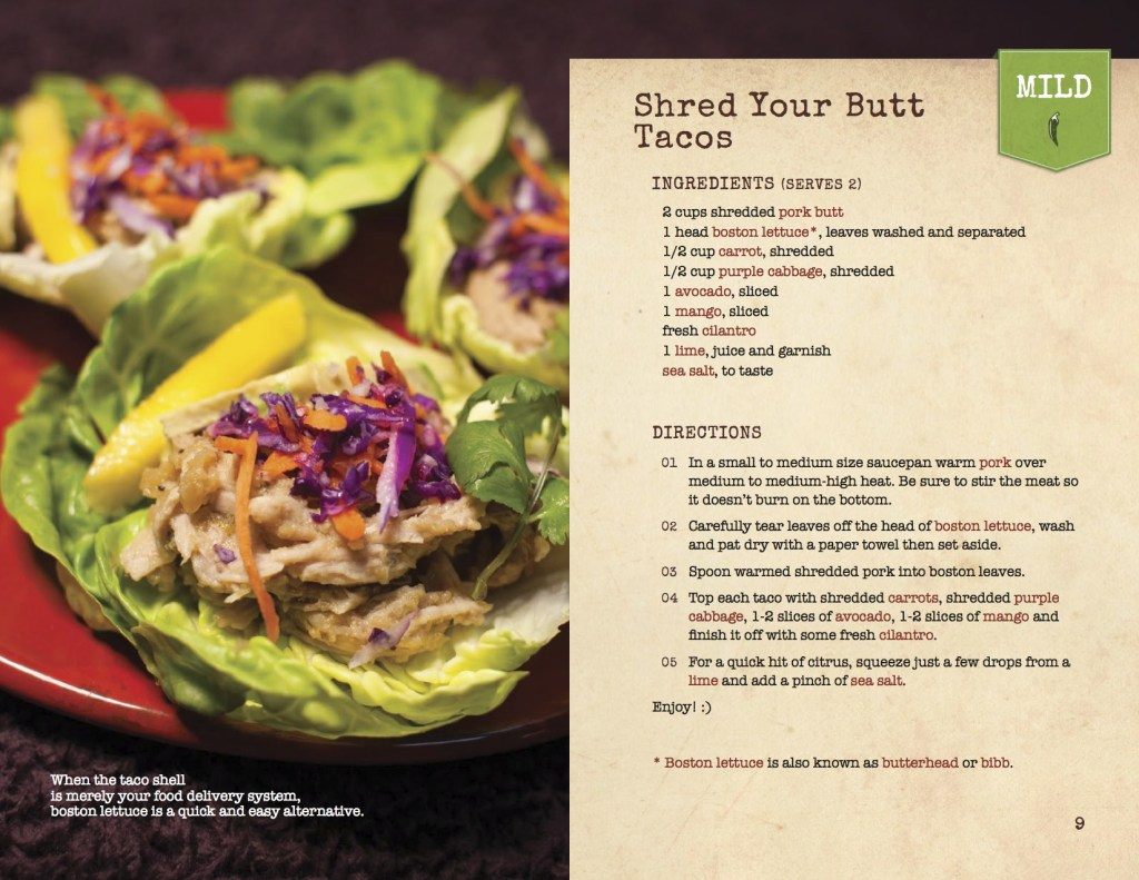 Shred Your Butt Tacos: A Los Paleo Recipe