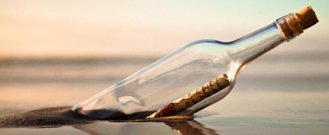 bottle-message