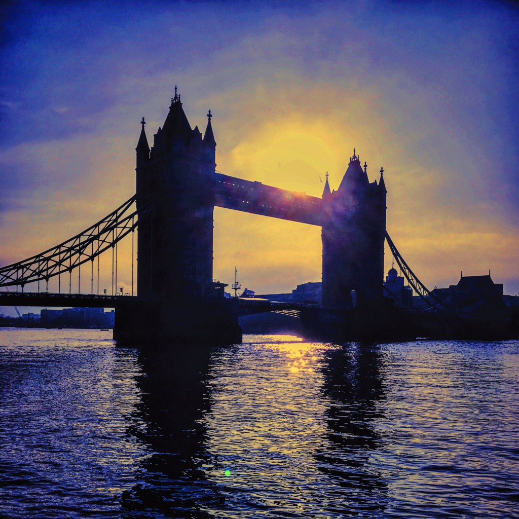 London Tower Bridge Sunrise
