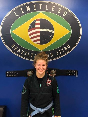 Limitless BJJ Kids Instructor - Shannon Maloney
