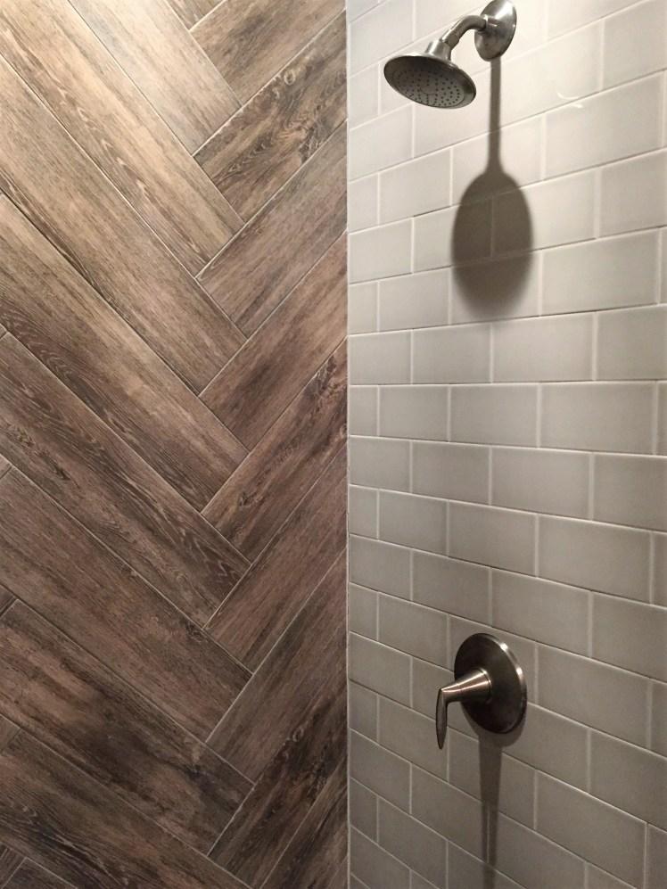 Distinctive Shower Tile