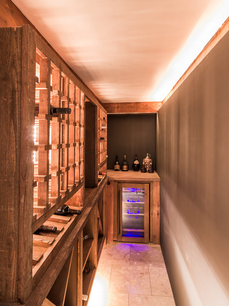 Walk-in Wine Closet