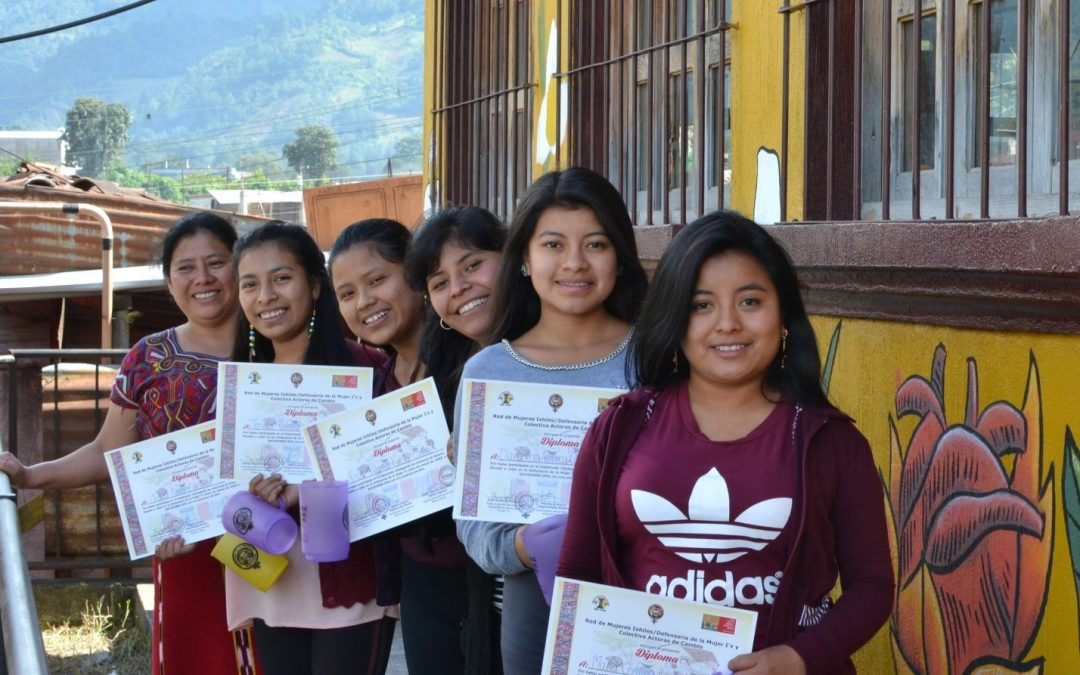 Our young female graduates are fighting gender-based violence.