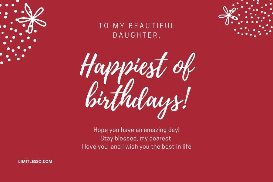 2021 Cute Birthday Prayers For My Daughter Limitlesso
