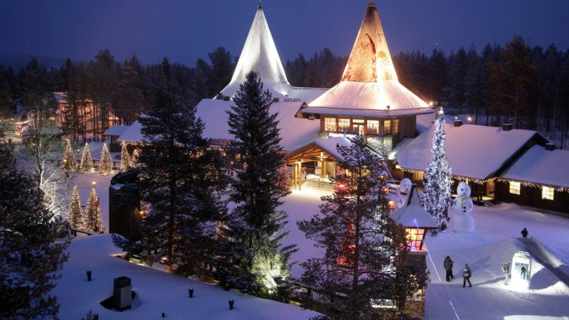 santa claus village arctic circle rovaniemi©visitrovaniemi.fi  800x450 - TOP 10 EUROPEAN DESTINATIONS TO CELEBRATE CHRISTMAS